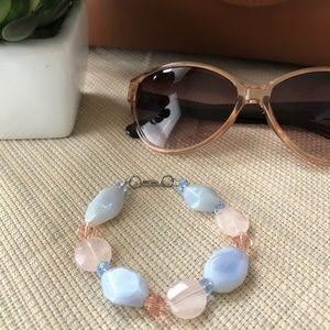 Jewelry - ✨NEW✨Genuine Gemstone & Crystal Bracelet